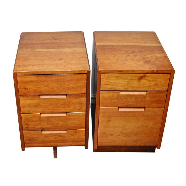 George Nakashima  Cherry Nightstands POR