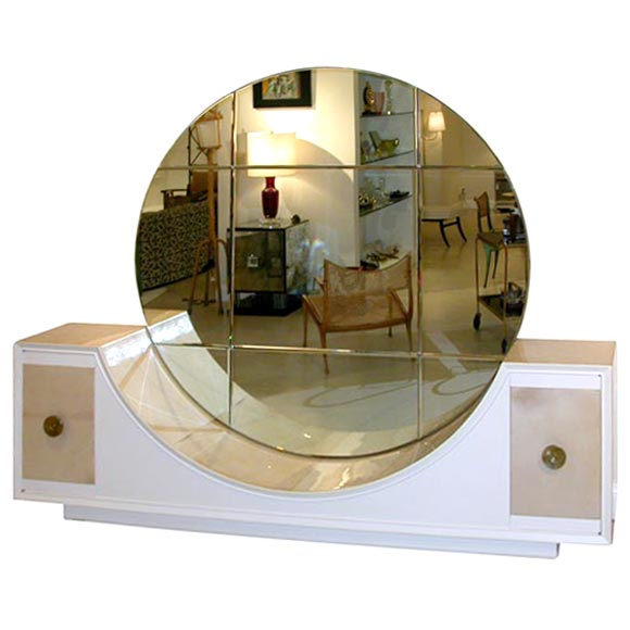 Samuel Marx  Parchment Dressing Vanity $75,000