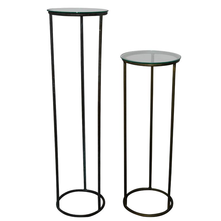 Walter Lamb   Bronze Pedestals $6,500 (tall) / $5,000 (short)