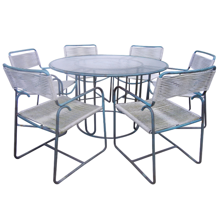 Walter Lamb   Bronze Dining Set POR