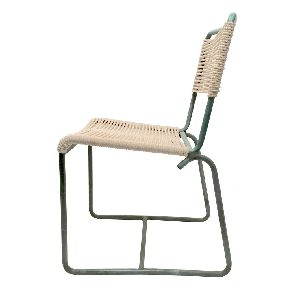 Walter Lamb  Bronze   Side Chair $2,000