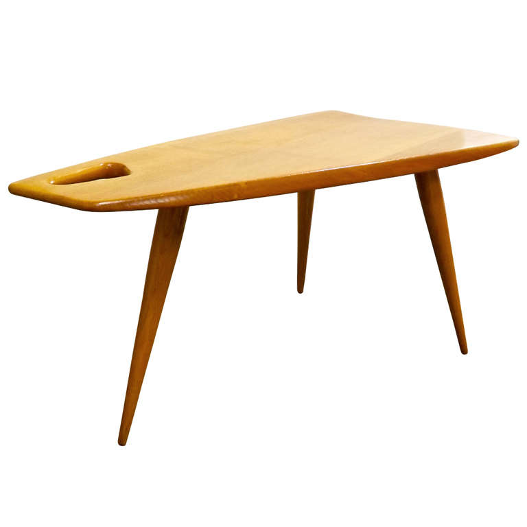 Rene Gabriel  Trapezoid Table $6,500