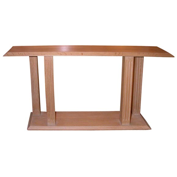 Jacques Quinet  Console from Hotel Royal-Evian $19,500