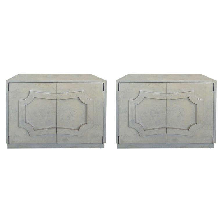 Lorin Jackson  Grosfeld House Low Cabinets $8,500