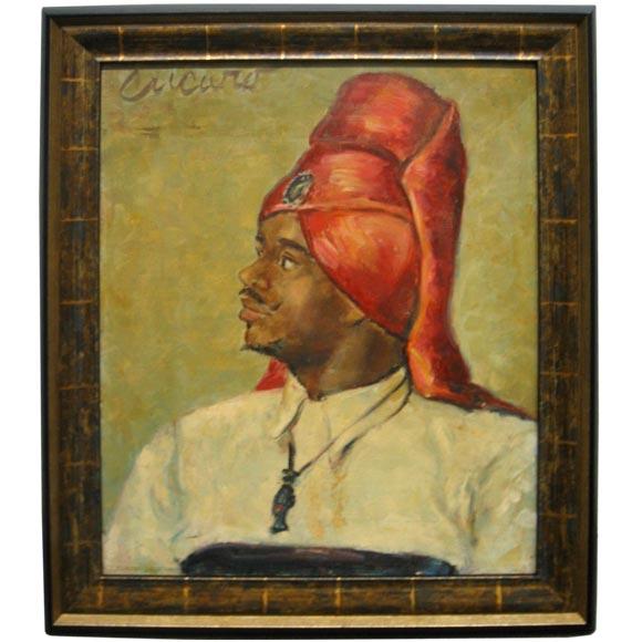 Pascual Cucaro   Portrait $4,200