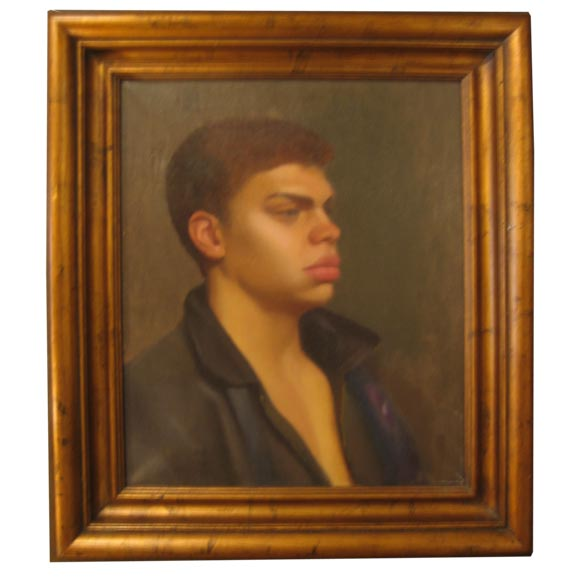 1940's Portrait of a Young Man $6,500