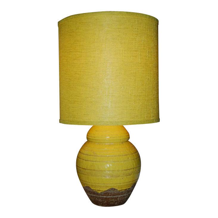 Ugo Zaccagnini  Ceramic Table Lamp with Custom Shade $1,800