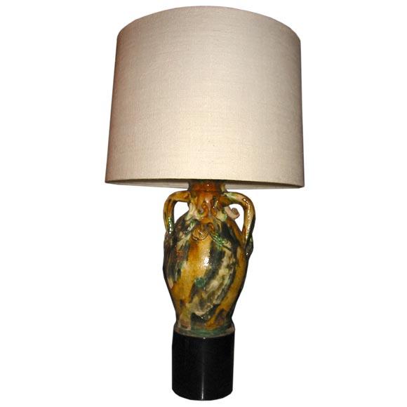 """William """"Billy"""" Haines  Ceramic Table Lamp $3,900"""