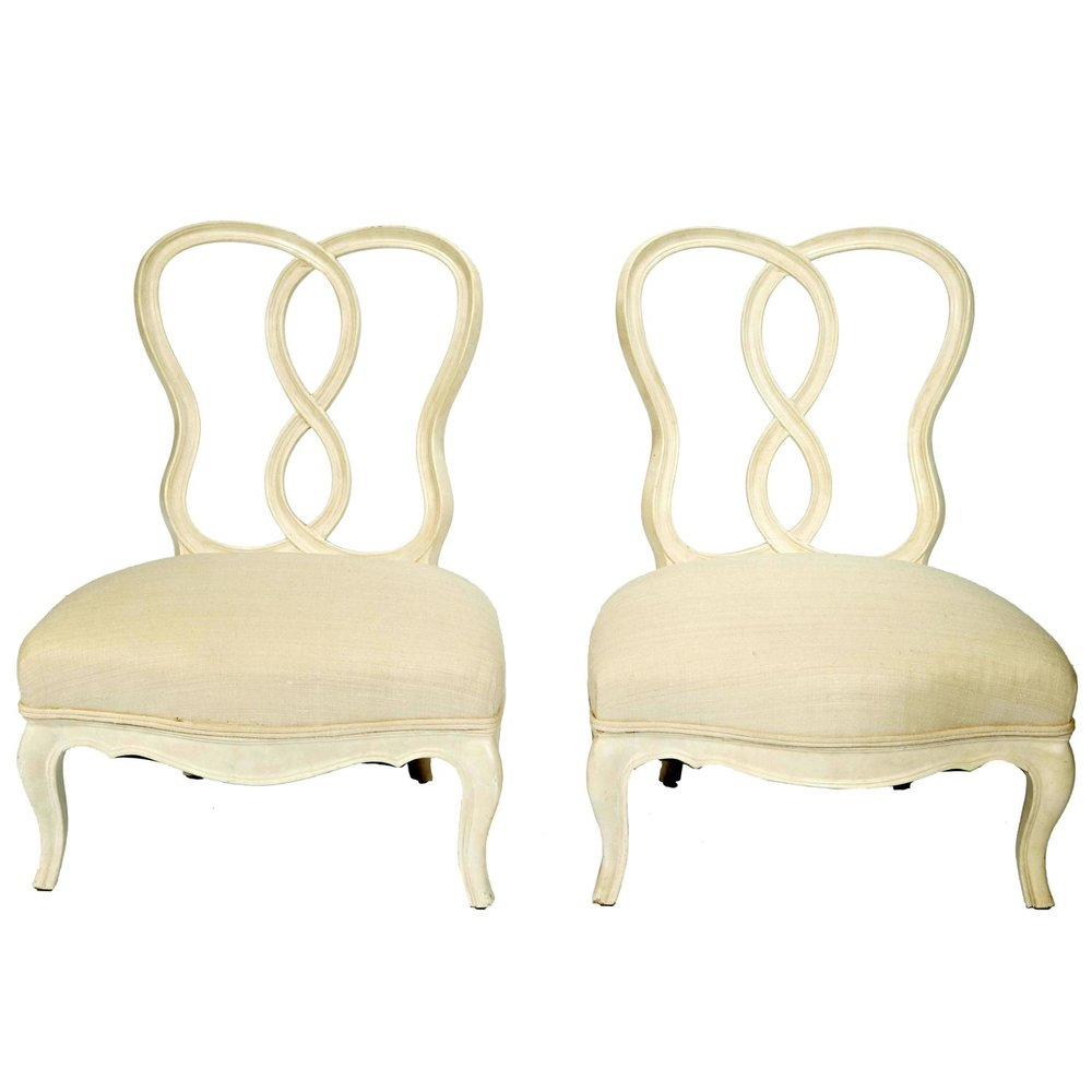 Samuel Marx  Quigley Slipper Chairs $40,000