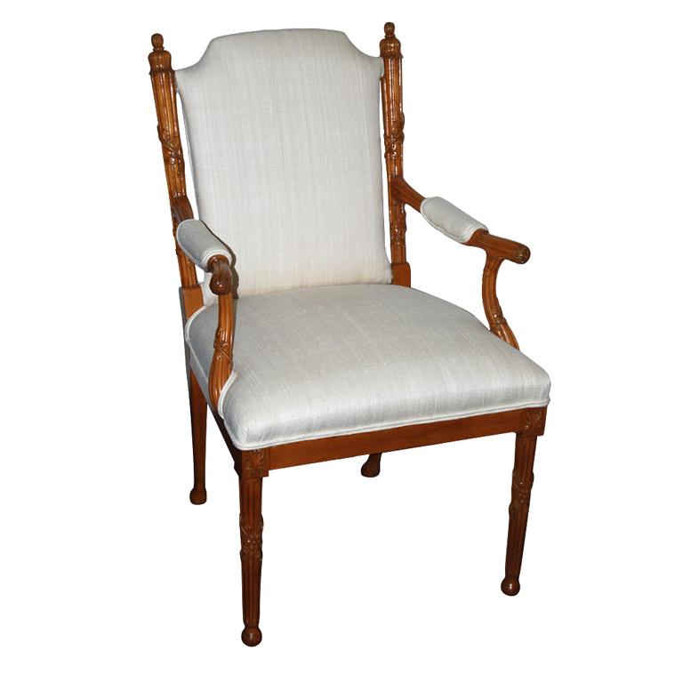 "T.H Robsjohn Gibbings  Petersen Studios Chair from ""Casa Encantada"" $15,000"