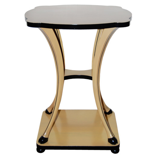 Fanciful Two-Tone Occasional Table with Hooves $2,800