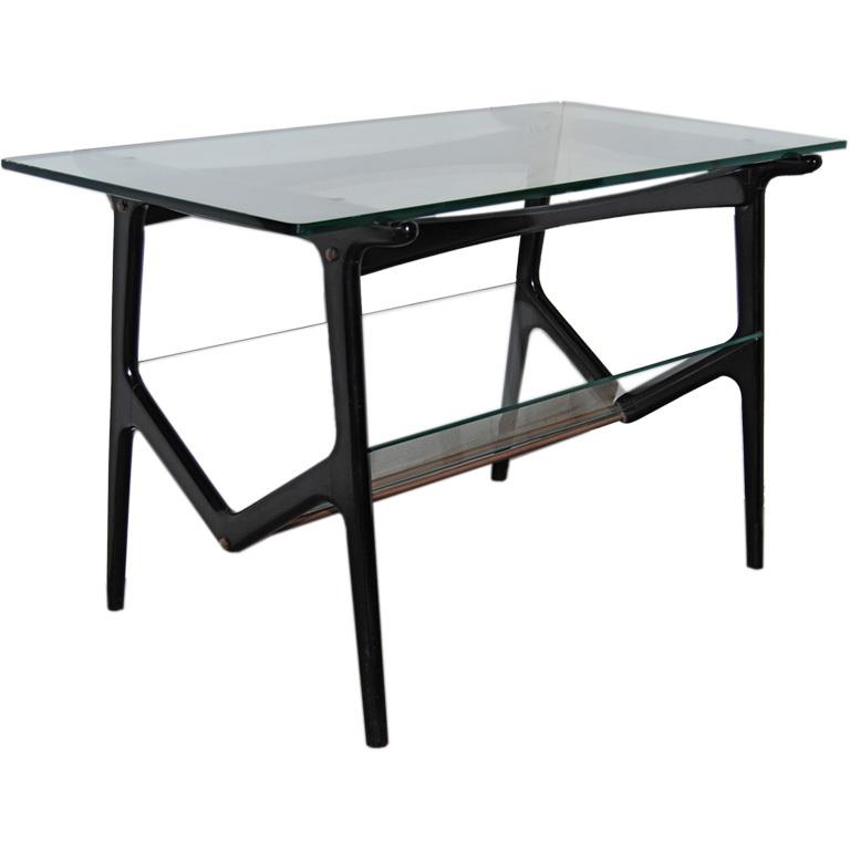 Cesare Lacca  Sculptural Glass Table $4,500