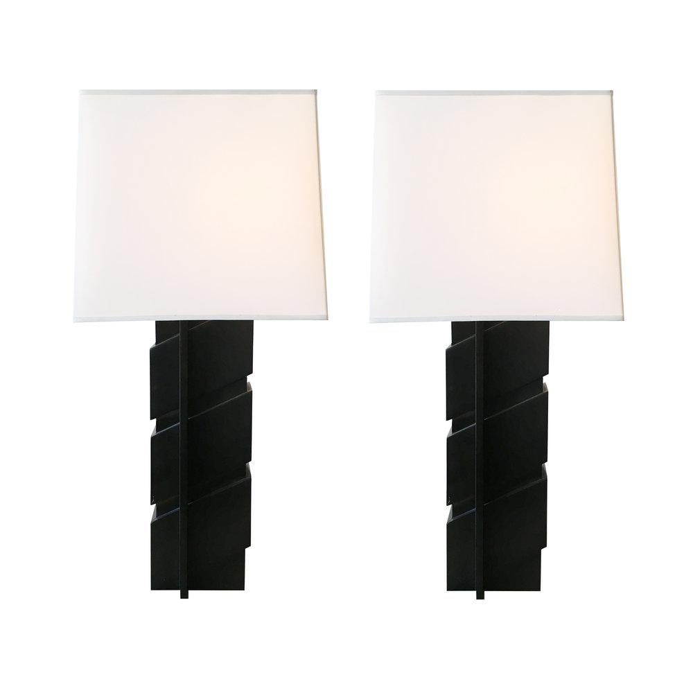 Edith Norton  Pair of Custom Lamps $7,500