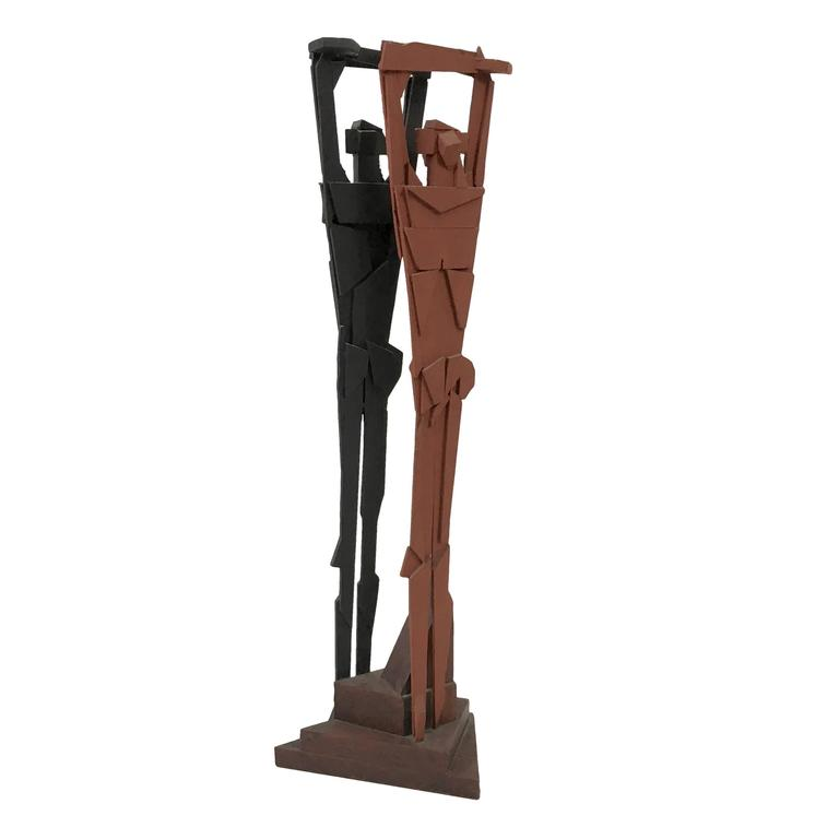 "Richard Faralla  ""Double Man"" Sculpture $5,000"