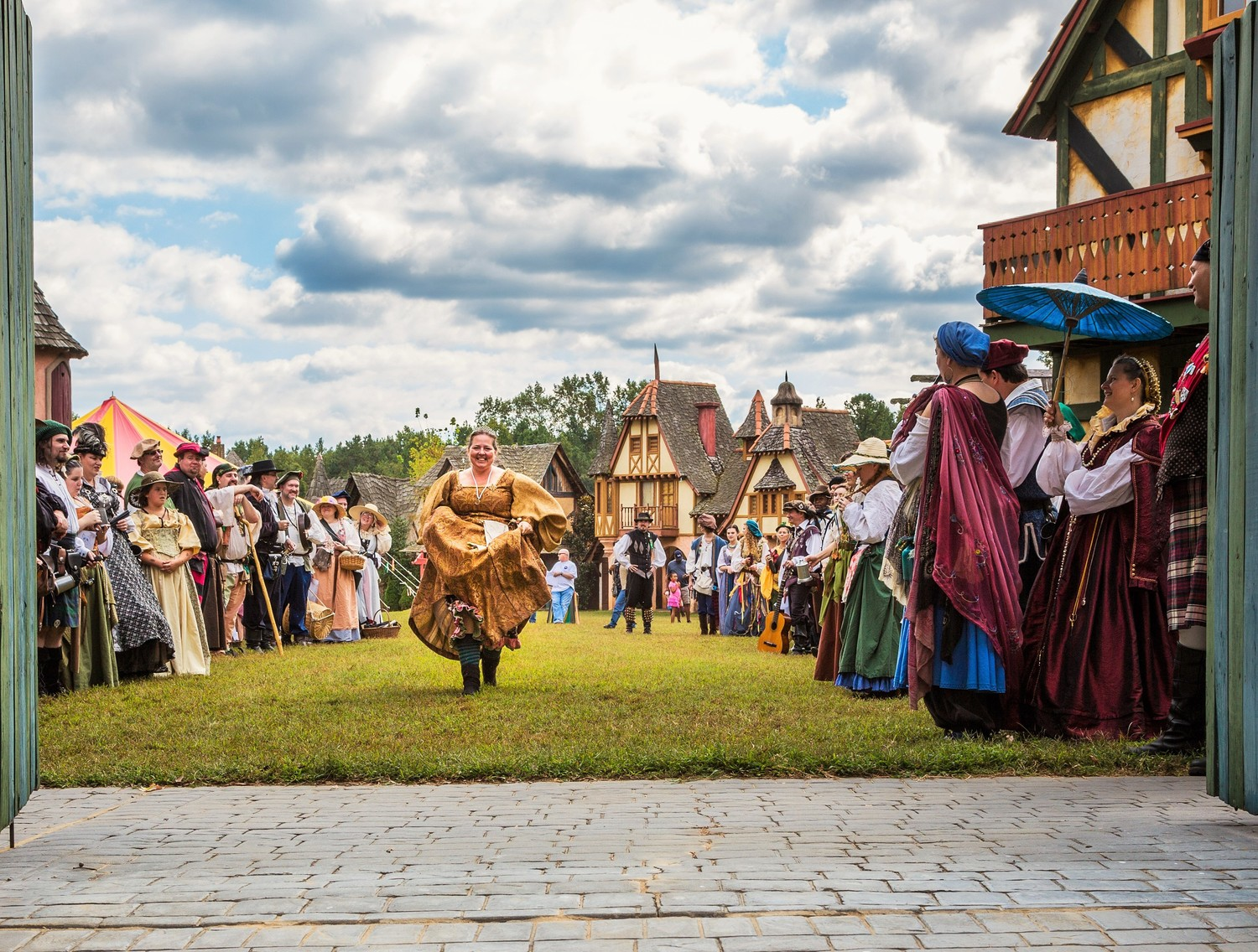 Fairhaven, the fictional village of the Carolina Renaissance Festival!