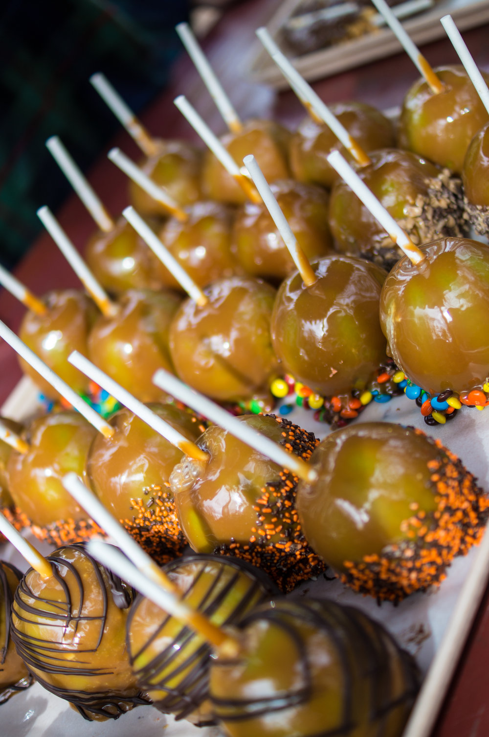 Caramel Apples from the Village Bakery