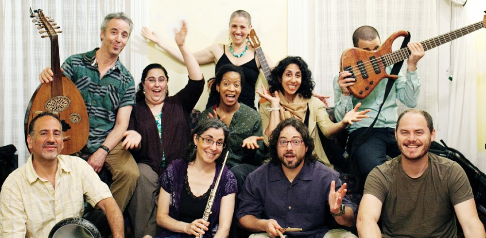 Meet the band: Jessi Roemer: composer, director, vocals, guitar, shruti box Meara Lebovitz: vocals Naeemah Maddox: vocals Karinne' Andonian: vocals Billy Yalowitz: oud, saxophone Eve Friedman: flute Loren Gildar: keyboard, bass, electric guitar Joseph Tayoun: doumbek, percussion Jonathan Singer: drum kit (Juan Bossio: bass)