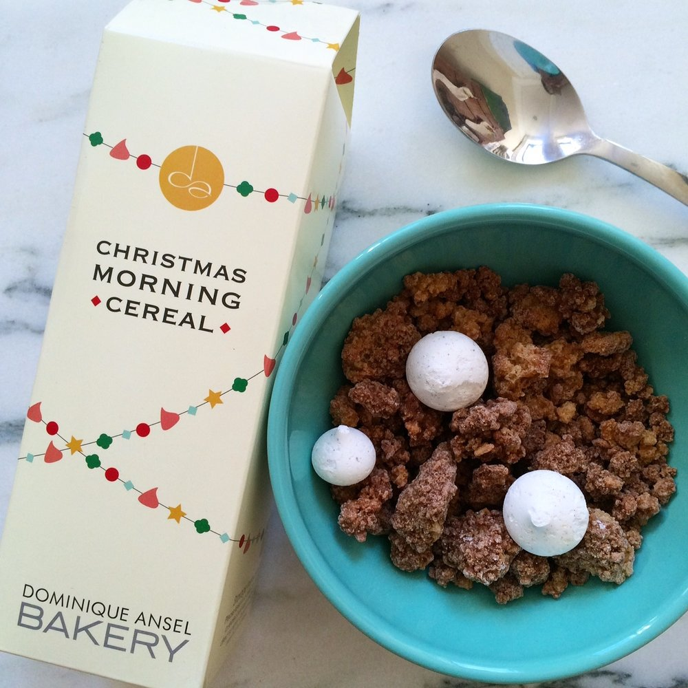 Christmas Morning Cereal Packaging