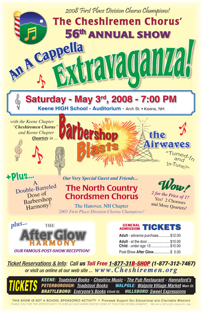2008 Show Poster / ss