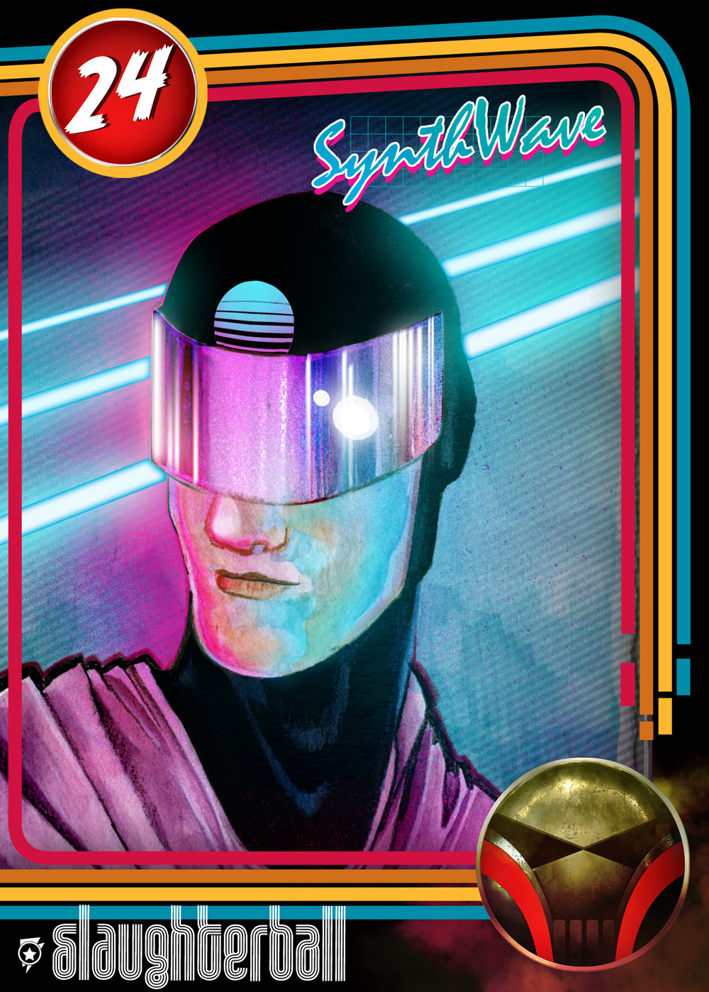 - #24 Synthwave
