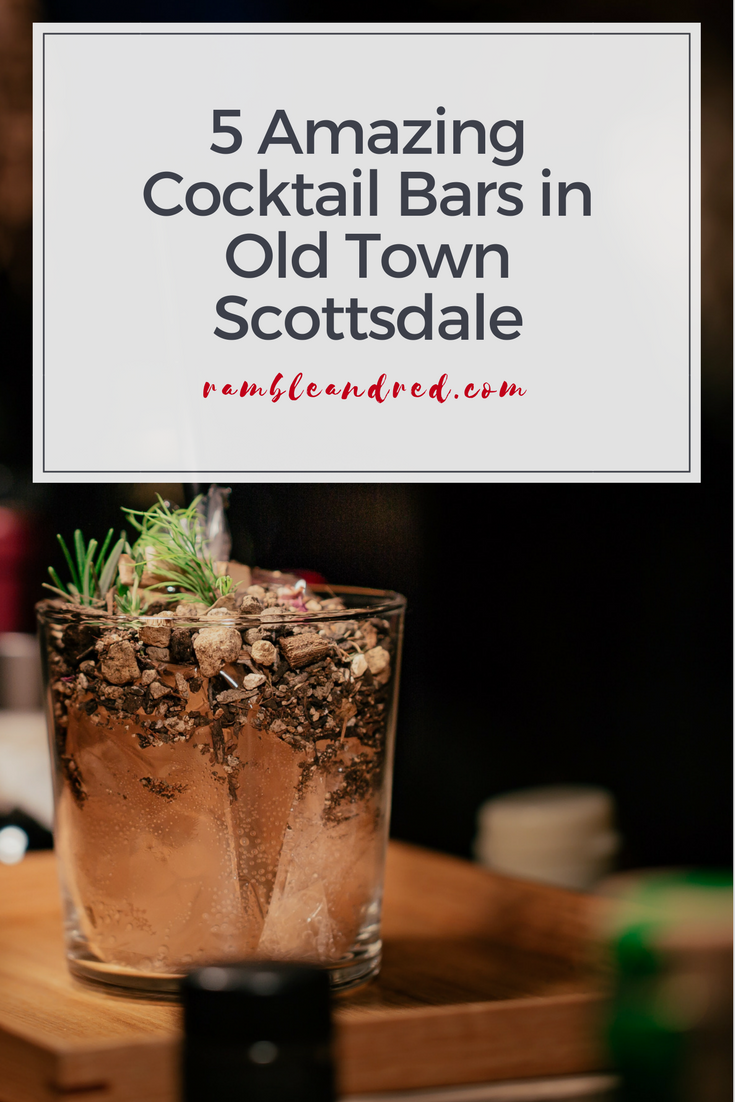 Best craft cocktail bars in Old Town Scottsdale, Arizona