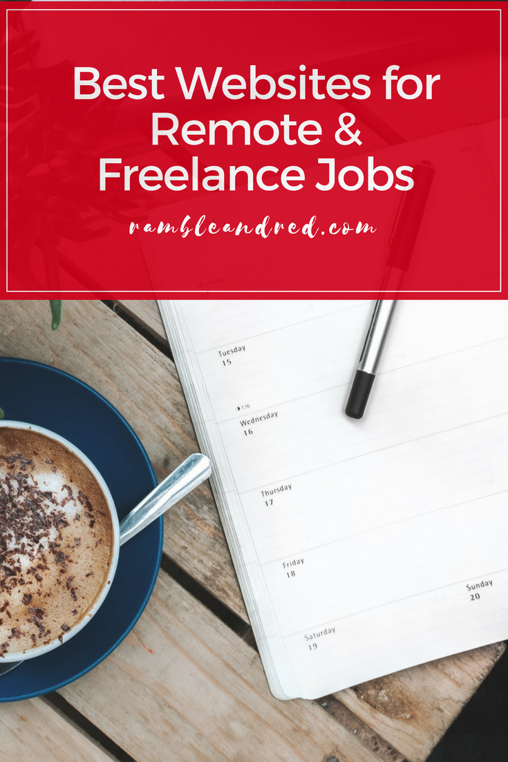 Best websites for remote and freelance positions