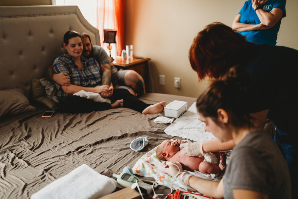 Newborn check