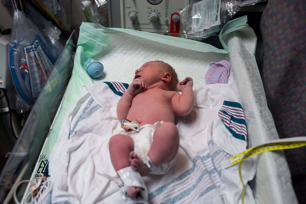 Cesarean Birth, Hospital, Transfer