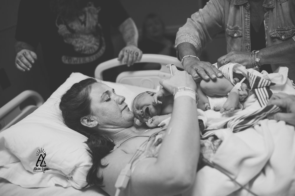Cesarean, Birth, Mother, Hospital
