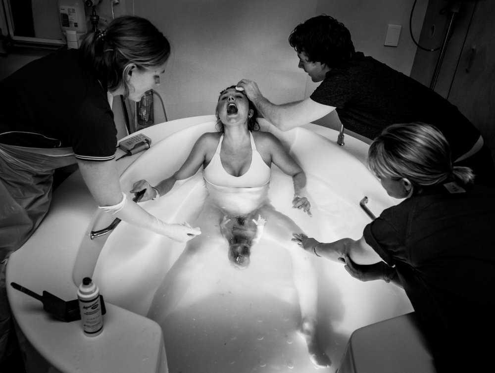 BIRTH (1st Place) Selena Rollason of Brisbane Birth Photography