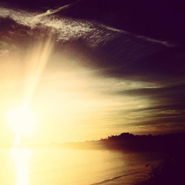 This sunset photo was taken in Santa Cruz. If this doesn't inspire you to heal, what does it for you?