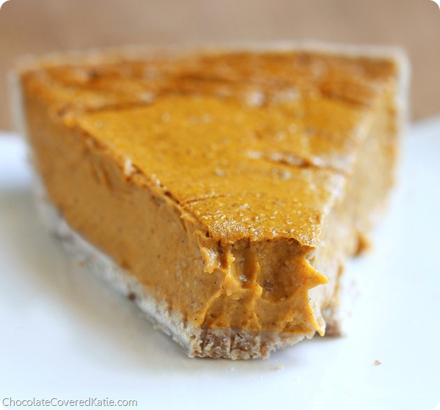 Healthy Vegan Coconut Pumpkin Pie