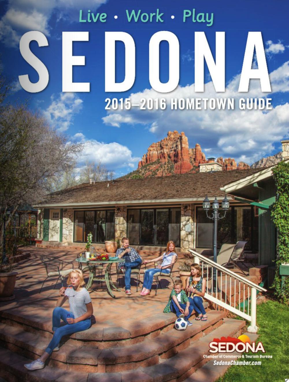 Sedona 2015-2016 Hometown Guide Cover