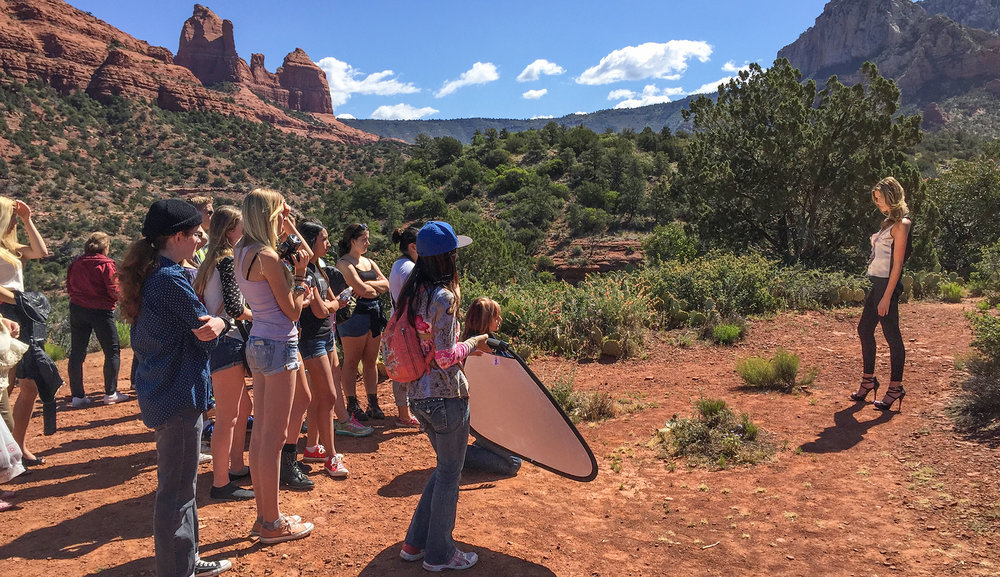 Sedona Photofest Red Rock High School Outreach