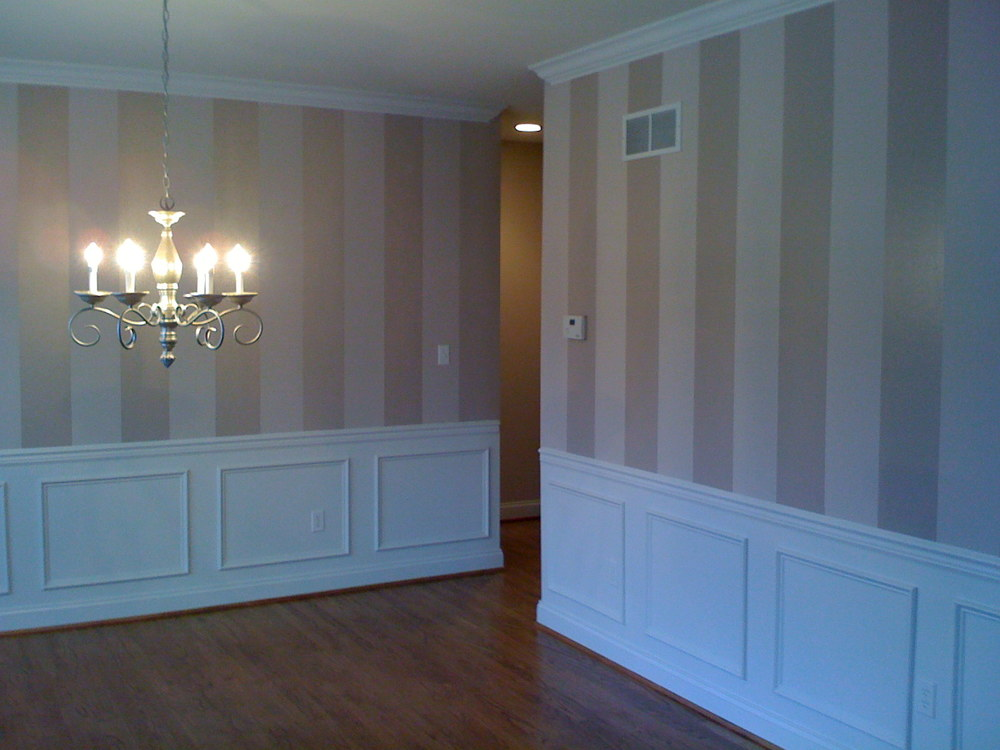 Faux Painting Stripes in West Chester, PA