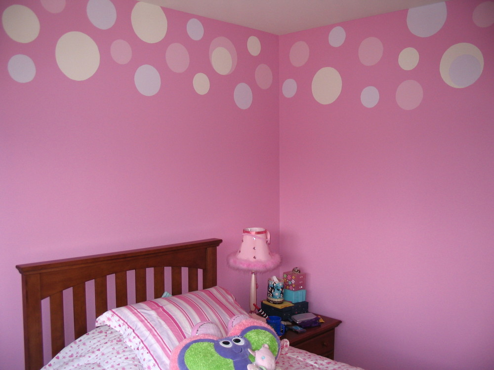 Faux Painting Kids Rooms Polka Dot Downingtown, PA