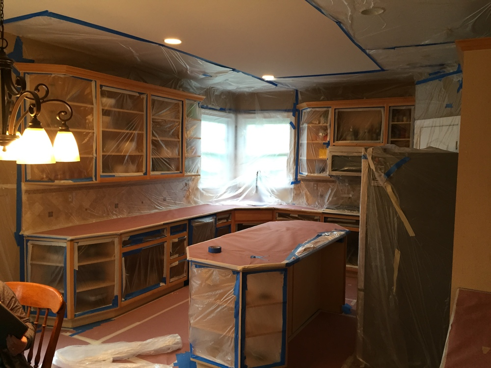 Kitchen Cabinet Painting in Downingtown, PA