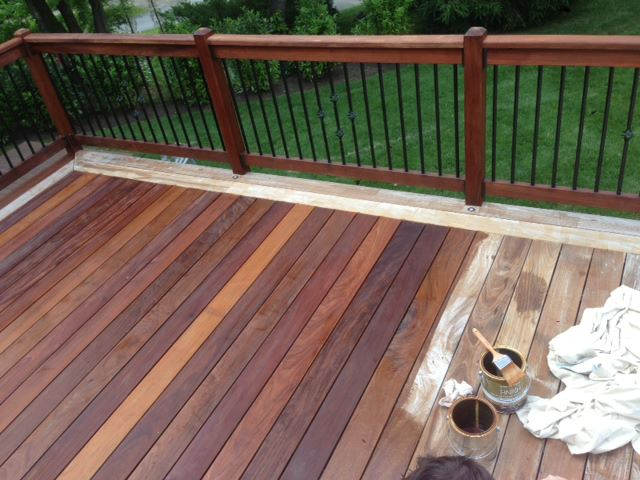 Deck Stain in West Chester, PA