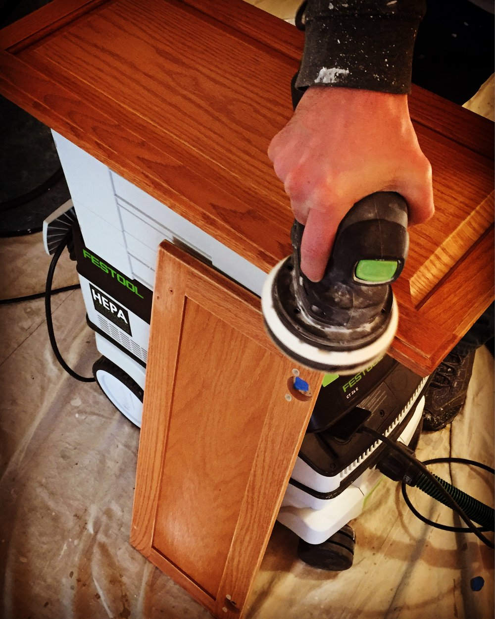 Festool Friendly = Dust Free =       Family Friendly   - Experience the difference...