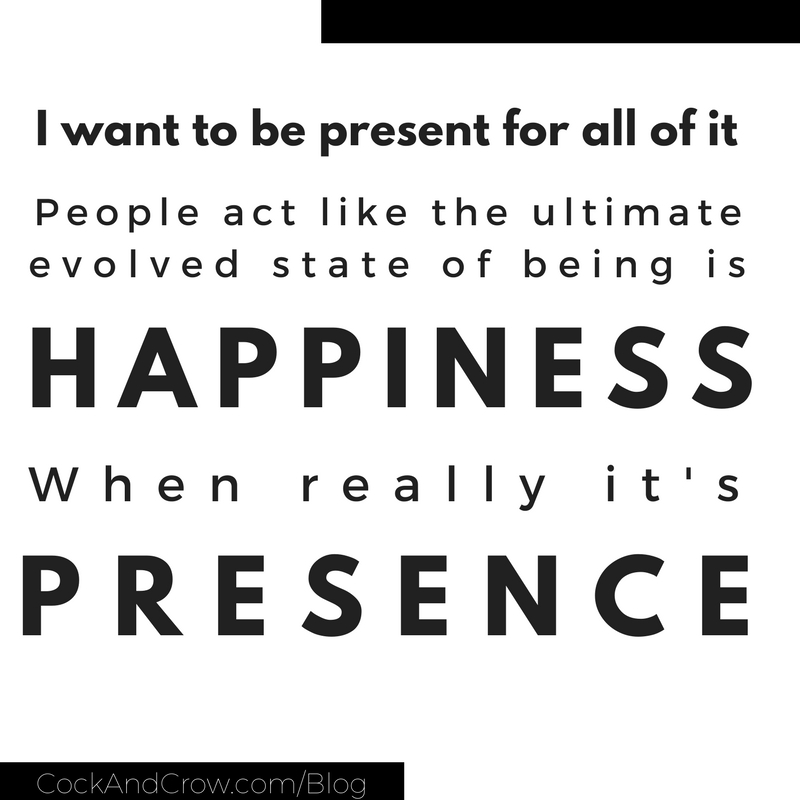 Coc& Crow Blog | #happiness #gratitude #presence