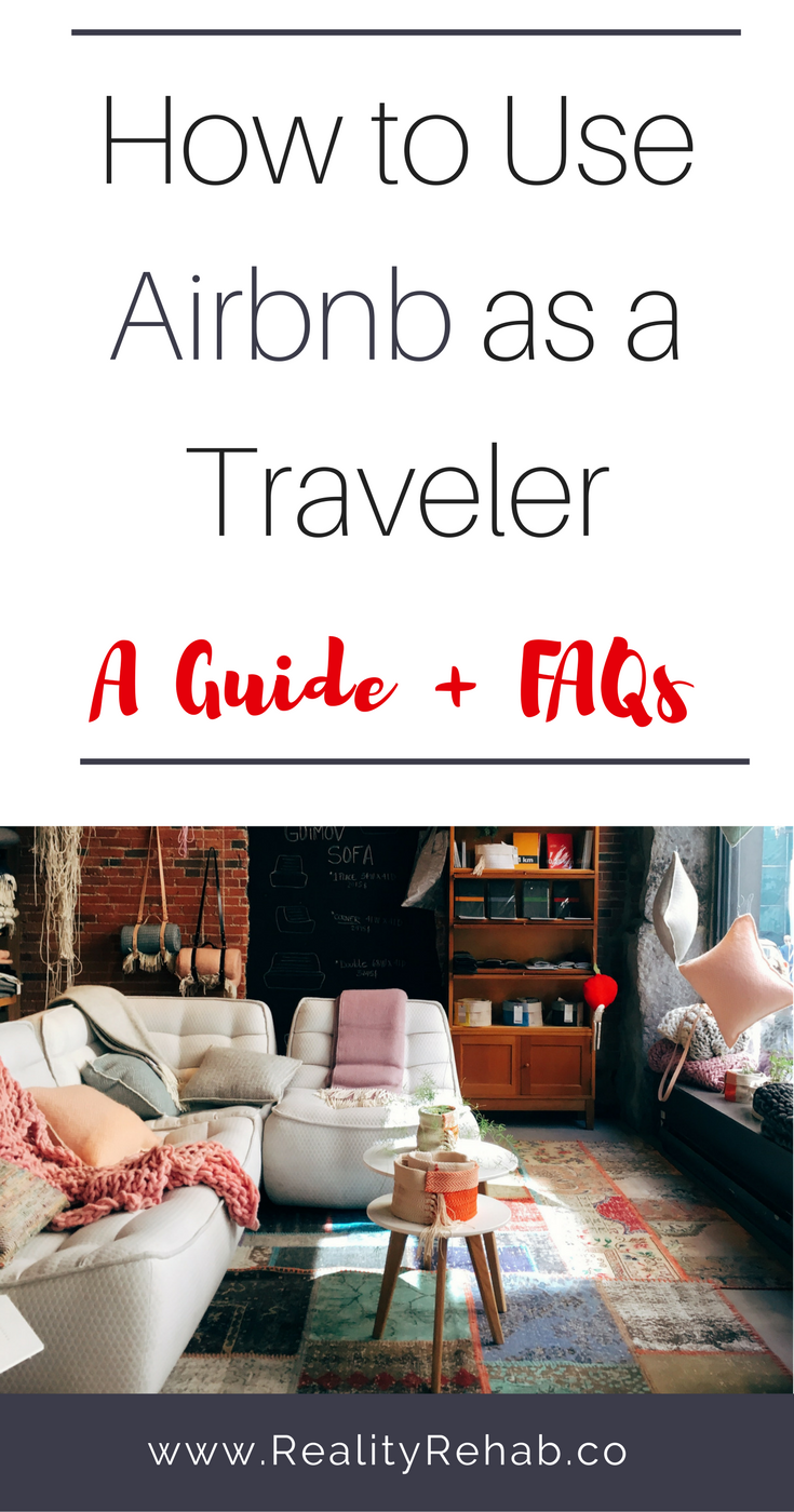 How to Use Airbnb as a Traveler | Cock & Crow Blog #airbnb #travel #hosting