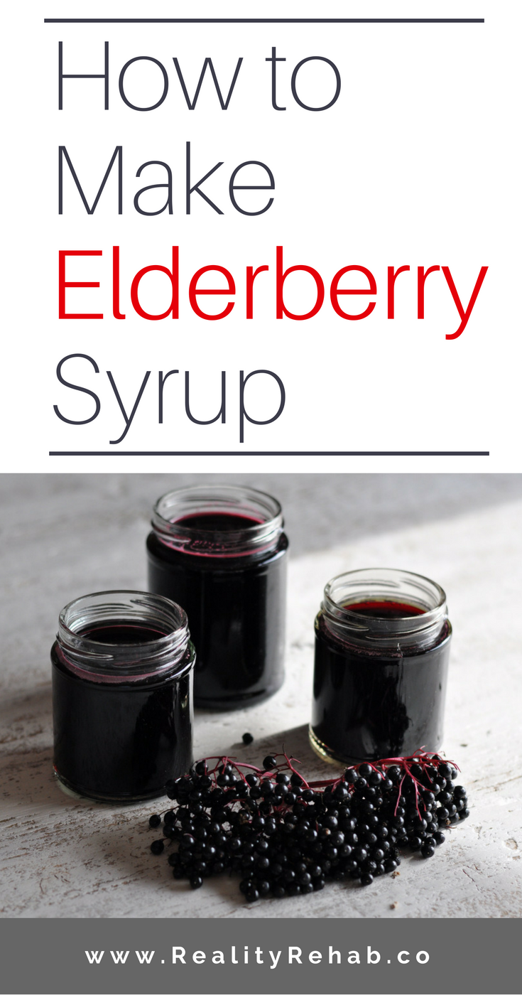 How to Make Elderberry Syrup | Cock & Crow Blog #elderberry #herbs #medicine #recipe
