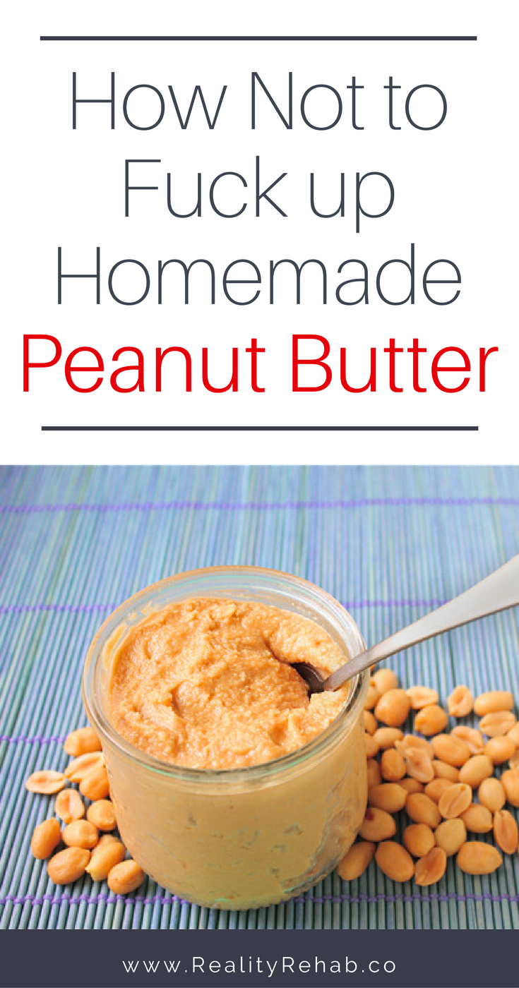 How to Make Peanut Butter | Cock & Crow Blog #recipe #DIY #peanutbutter