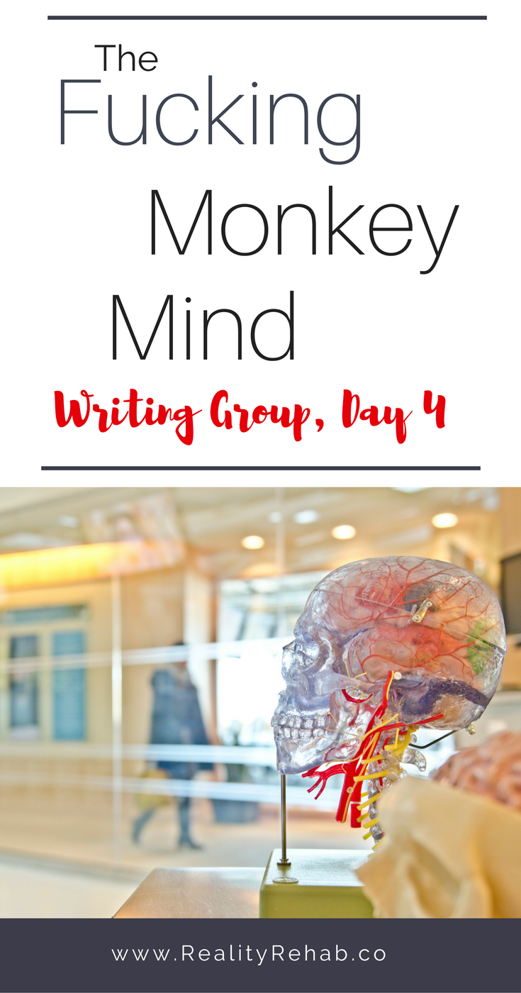 The Fucking Monkey Mind | Cock & Crow Blog #writing #blog #women #prompt