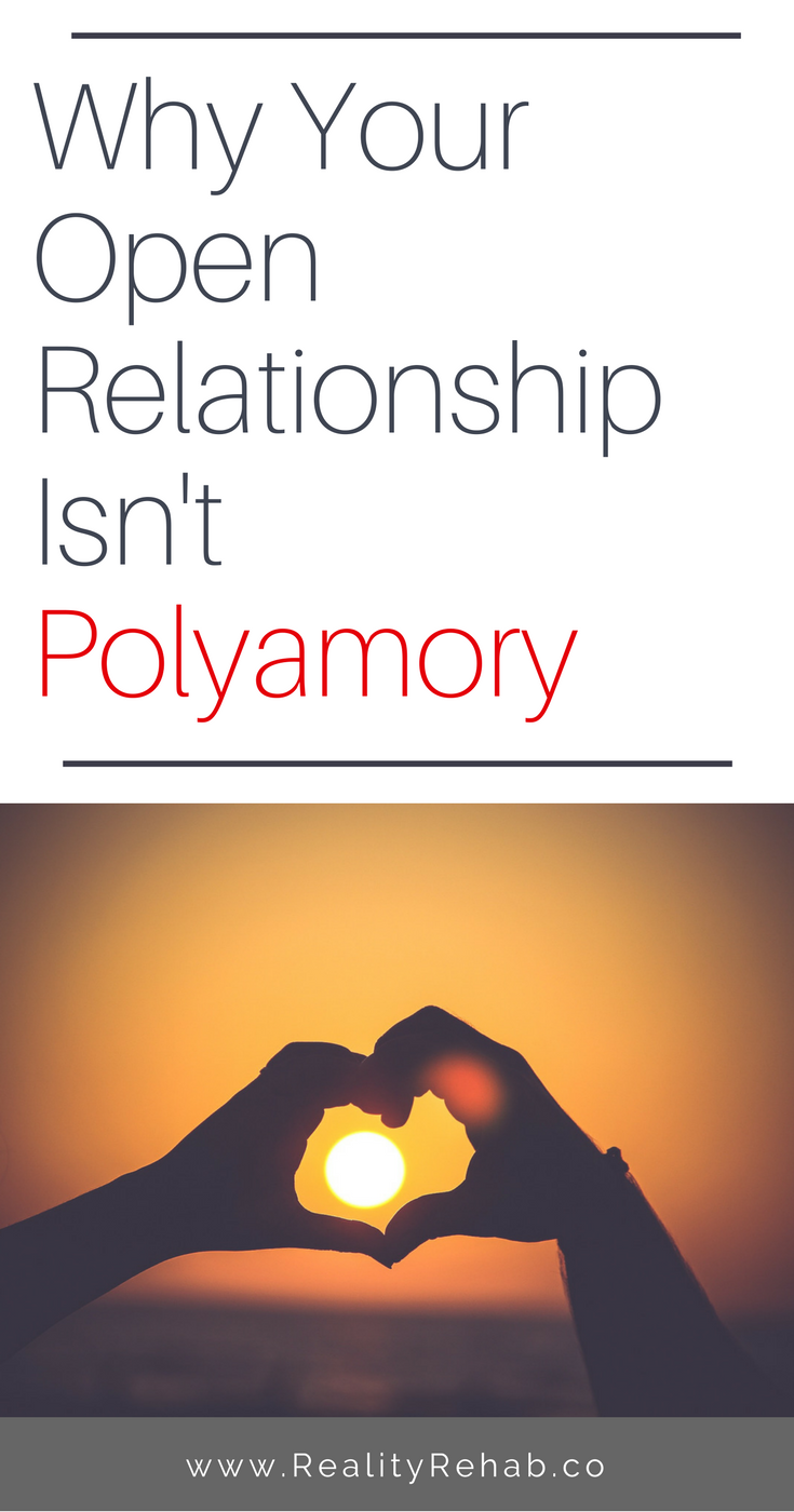 Why Your Open Relationship Isn't Polyamory | Cock & Crow Blog #polyamory #relationships #love