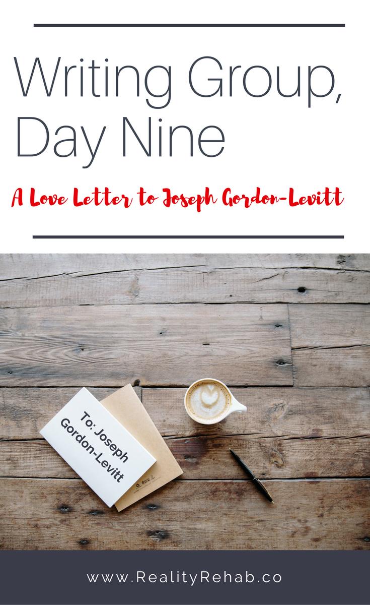 A Love Letter to Joseph Gordon-Levitt | Cock & Crow Blog #hitrecord #josephgordonlevitt #love