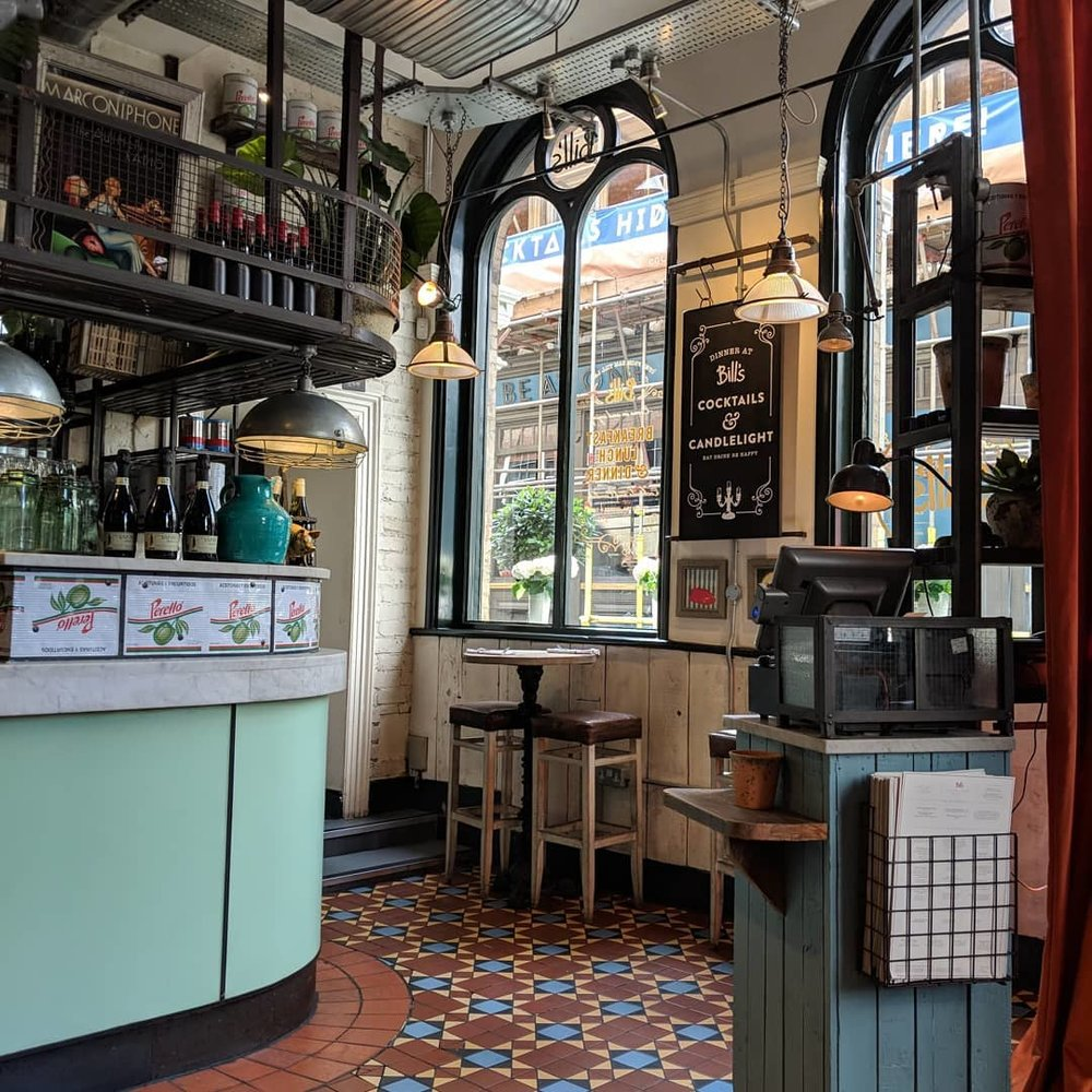 Bill's | Covent Garden | London, England