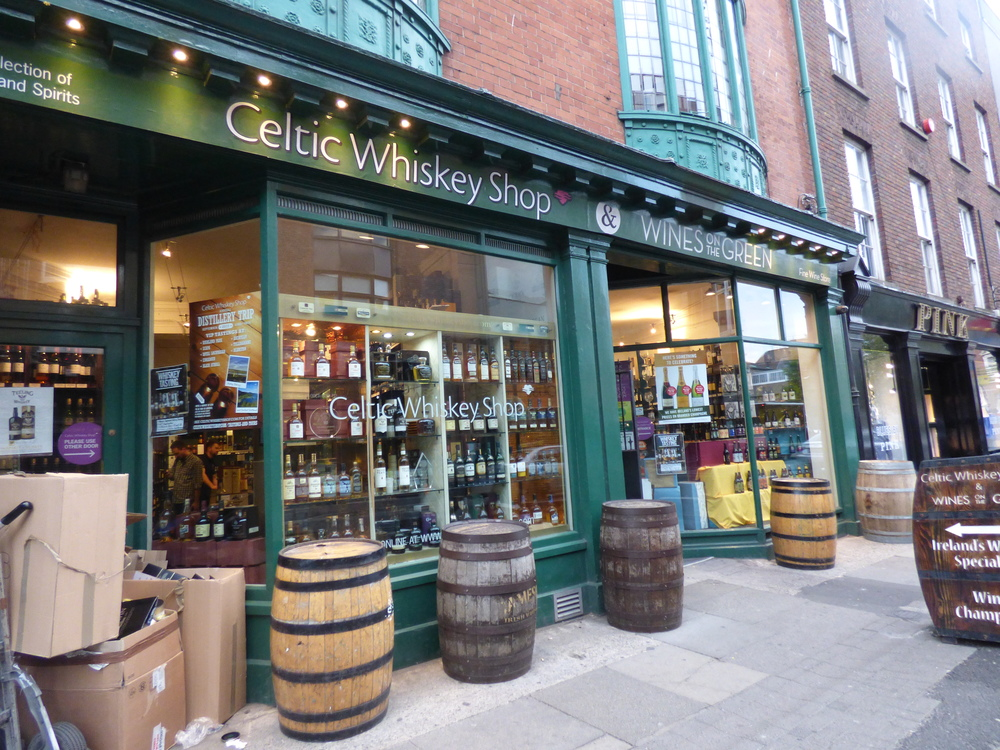 The Celtic Whiskey Shop, Dublin