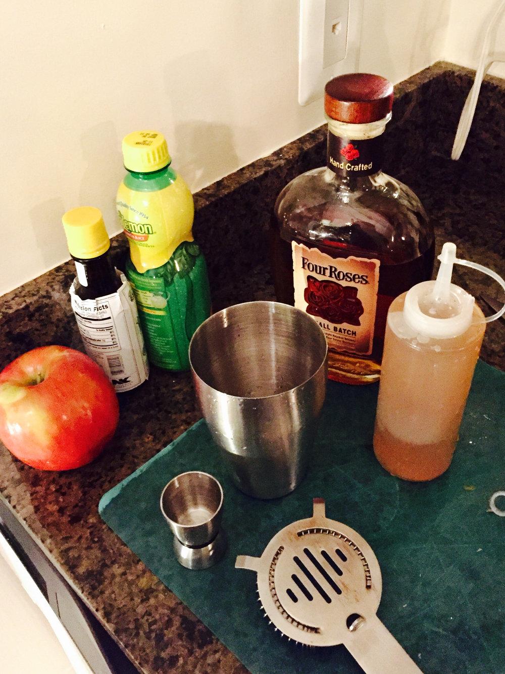 The Apple Claus setup!