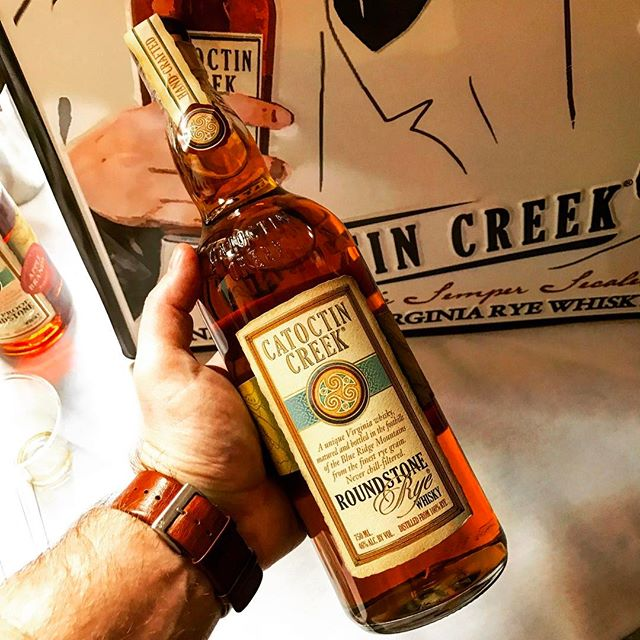 Here at #dcdistillersfest trying out the @catoctincreek #caskstrength hickory finish #rye #whisky #whiskey #whiskeygram #ryegram #instawhiskey #instarye #dc